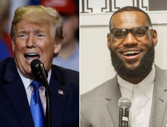 SURPRISE!  Donald Trump Responds to LeBron James on Twitter with a the most, Un-Presidential, Childlike response. Thank Goodness Twitter Jumps to LeBron's Defense (Tweets)