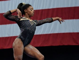 Simone Biles Becomes the First Woman to win 5 National All-Around Titles.  (VIDEO)