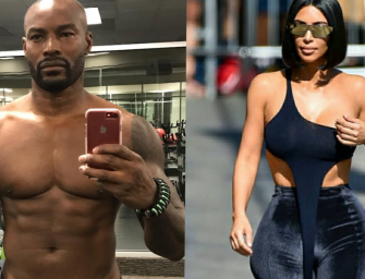 Kim Kardashian Fires Shots At Tyson Beckford, Insinuates He's Gay After He Body Shames Her!