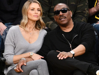 Eddie Murphy Is Expecting His 10th Child, His Australian Girlfriend Spotted Walking Around Los Angeles Looking Very Pregnant!