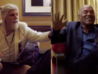 WATCH IT WHILE YOU CAN: The Most Awkward Interview Ever, Sacha Baron Cohen Tries To Get O.J. Simpson To Confess To Murder (VIDEO)