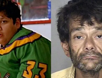 The Saddest Photo You'll See All Week: 'Mighty Ducks' Goalie Shaun Weiss Is Addicted To Meth And He Looks Unrecognizable Now…(PHOTO)