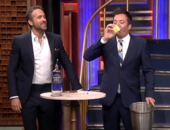 Jimmy Fallon Vomits While Playing Drinking Game With Ryan Reynolds (VIDEO)