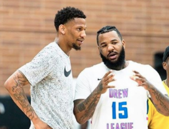 The Game Throws Hands In a Basketball Game…..against his Own Teammate. Later Issues an Apology for the Knockout! (VIDEO)