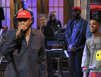 The Most Uncomfortable Moment Of The Year? Kanye West Booed As He Gives Pro-Trump Speech On 'Saturday Night Live' Stage (VIDEO)