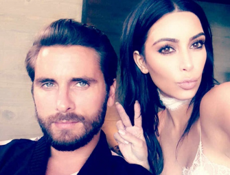 Say Whaaat? Kim Kardashian Claims Scott Disick Wants To Have Another Baby With Kourtney