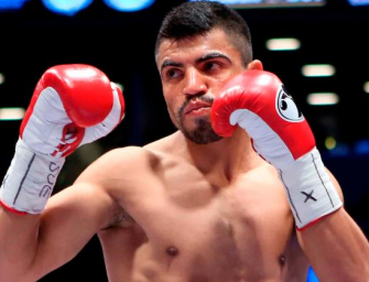 Victor Ortiz Arrested On Rape Charges Days Before His Scheduled Fight Against John Molina Jr.