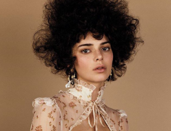 Kendall Jenner In Some Hot Water After Her 'Afro' Photo Shoot With Vogue