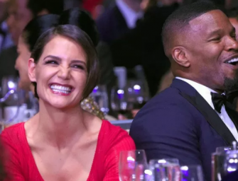 Katie Holmes And Jamie Foxx Continue To Flaunt The Swirl, Hold Hands At New York City Yacht Party