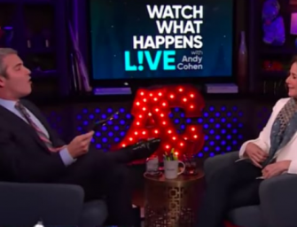 Andy Cohen Just Got Served On His Own Show By Debra Winger, Watch The Awkward Video Inside!