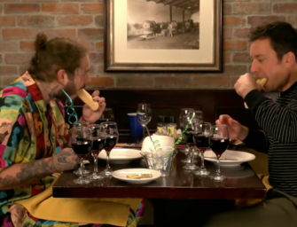 Post Malone Takes Jimmy Fallon To Olive Garden For The Very First Time (VIDEO)