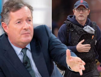 Twitter Troll Piers Morgan Claims Daniel Craig Is Less Of A Man For Carrying Around His Baby In Carrier
