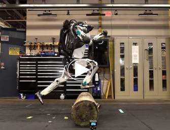 The Boston Dynamics Robot Named Atlas is Now Doing Parkour!  Really!