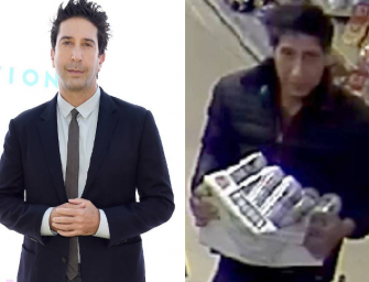 Police In England Are Searching For A Thief Who Looks Exactly Like Ross From 'Friends,' And People Are Losing Their Minds (PHOTO)