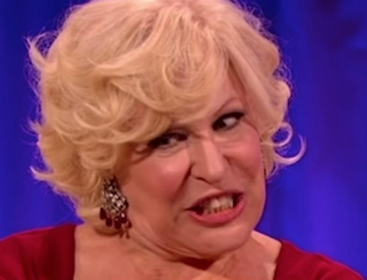 "Bette Midler Taking Lots Of Heat After Tweeting That Women Are ""The N-Word Of The World"""