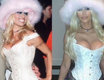 "Kim Kardashian Dresses Up As Pamela Anderson For Halloween, Then Calls People ""Retarded"" For Not Knowing Who She Was"