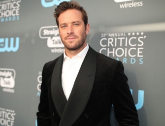 Armie Hammer Is Having A Rough Time On Twitter After Criticizing Other Celebs For Posting Selfies With Stan Lee