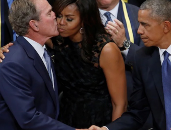 Michelle Obama Talks About Her Close Friendship With Former President George W. Bush