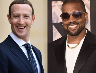 Kanye West Gets Cozy With Mark Zuckerberg, Sings Backstreet Boys Hit Song With Him (PHOTO)