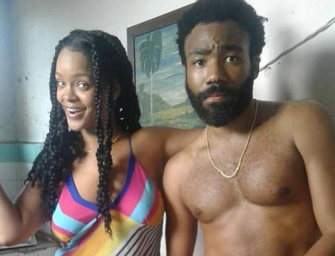 Check Out A Leaked Teaser Clip From Donald Glover's Super Secret Film With Rihanna (VIDEO)