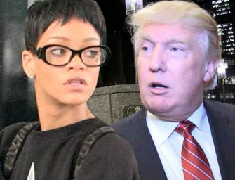 Rihanna Threatens To Sue Donald Trump After He Plays Her Music During Rally In Tennessee