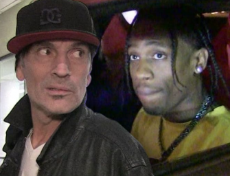Tommy Lee Is Going After Travis Scott, Threatens To Sue Claiming Scott Stole His 360-Degree Loop Stage Design