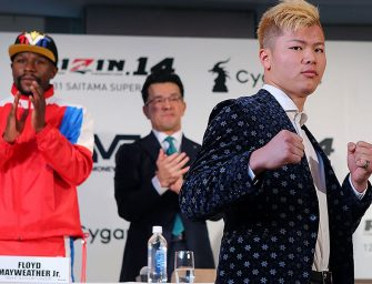 I WAS JUST PLAYIN Y'ALL!  In A Weird Set of Circumstances, Floyd Mayweather Backs Out of Fight with  Tenshin Nasukawa