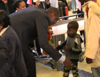 Retired NBA Star Dikembe Mutombo Flies Out 8-Year-Old Boy With Large Tumor To U.S. For Surgery (VIDEO)