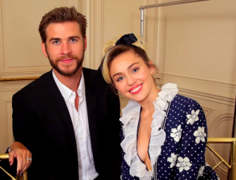 It Looks Like Miley Cyrus and Liam Hemsworth Just Got Married, Check Out The Photos Inside!