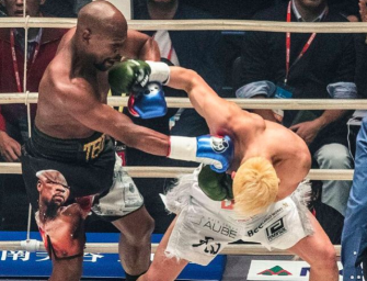 Floyd Mayweather Just Made $9 Million For Three Minutes Of Work Inside Boxing Ring (Video)