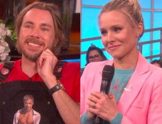 Dax Shepard Answers Hilarious Sex Question On The Ellen DeGeneres Show, Then Kristen Bell Makes Him Cry (VIDEO)