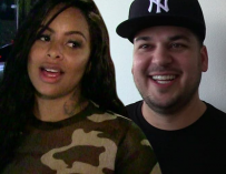 Rob Kardashian Posts About 'L&HH' Star Alexis Skyy On Instagram, She Shows Up At His Home A Few Hours Later To Smash