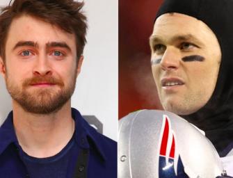 Daniel Radcliffe (Harry Potter) Slams Tom Brady, Tells Him To Take 'MAGA' Hat Out Of His Locker