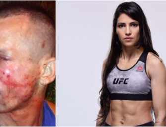 Light Work: UFC Fighter Polyana Viana Put Hands on A Would Be Robber and Then Choked Him Out.