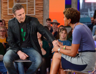 Liam Neeson Claims He's Not Racist In New Interview With Robin Roberts (VIDEO)