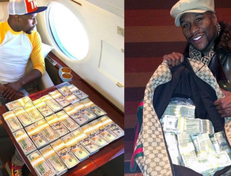 Floyd Mayweather Drops Stacks Of Cash At Gucci, Doesn't Give Two Ducks About The Boycott (VIDEO)