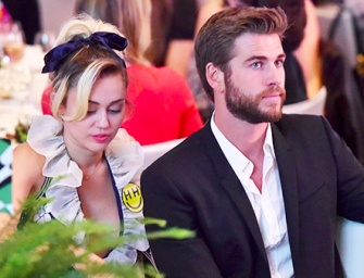 Miley Cyrus Wishes Liam Hemsworth A Happy Valentine's With A Slightly NSFW Photo/Meme