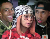 What? Soulja Boy And Blac Chyna Originally Got Together To Piss Off Tyga! #TOMPETTY