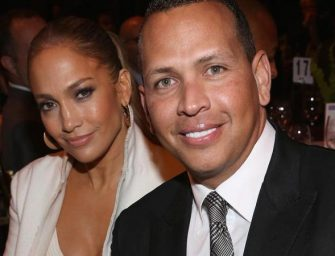 J.Lo and A-Rod are engaged!  See Her Stunning Ring (Photo)