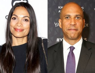 Rosario Dawson Confirms on Video, that She is in a Relationship with Cory Booker! (Will this stop the Gay Rumors?)