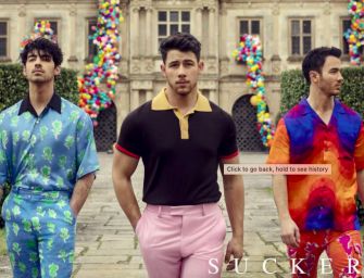 Watch And Listen To The New Jonas Brothers Song 'Sucker' Featuring All Of Their Significant Others (VIDEO)