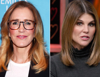 Felicity Huffman And Lori Loughlin Indicted In College Admissions Bribery Case, Huffman Was ARRESTED AND IS IN COURT!