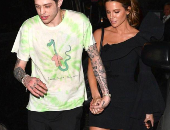 Pete Davidson And Kate Beckinsale Still A Thing And Still Making Out In Public (PHOTO)