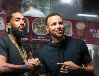 Watch The Moment Stephen Curry Found Out About The Death Of Nipsey Hussle (VIDEO)