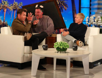 Watch Hilarious Video Of Chris Hemsworth Getting Scared By A Wittle Mouse (VIDEO)