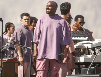 Kanye West Brings Sunday Service To Coachella, Charges $225 For A Godly Sweatshirt And $50 For Some Socks!