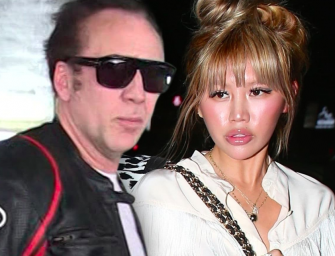 Nicolas Cage's Ex-Wife (Of Four Days!) Wants Spousal Support…GTFO!