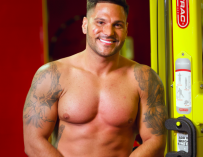 Jersey Shore's Ronnie Just Had Liposuction To Bring Back His Abs, Check Out The Before & After Photos!