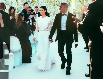 Kim Kardashian Shares Stunning Behind-the-Scenes Wedding Photos On Her 5-Year Anniversary