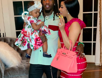 Cardi (B)rags To Her Followers About Dropping $80k On Jewelry For Her 10-Month-Old Daughter